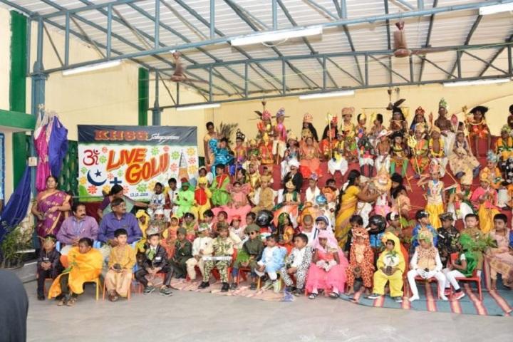 Kamalavathi Higher Secondary School-Live Kolu 2018