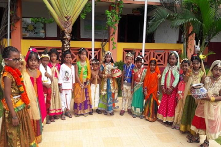 Kamaraj International School-Krishna Jayanthi