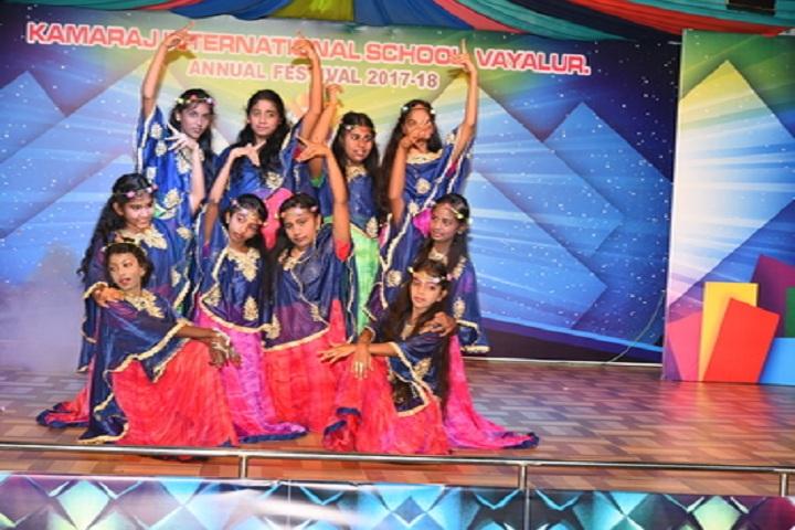 Kamaraj International School-Dancing Activity