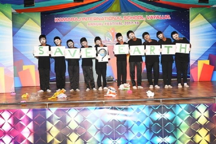 Kamaraj International School-Earth Day