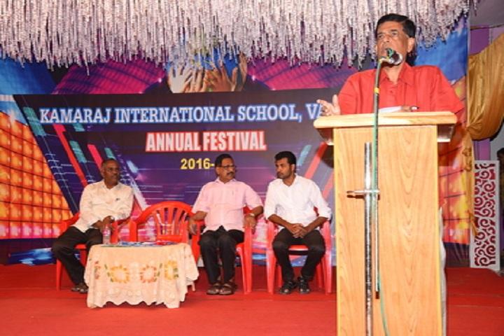 Kamaraj International School-Pricipal Speech