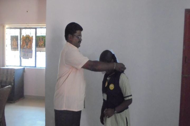 Kamarajar Public School-Investiture ceremony