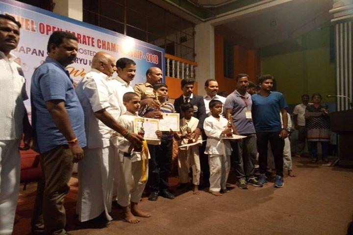Kamarajar Public School - Karate Champions