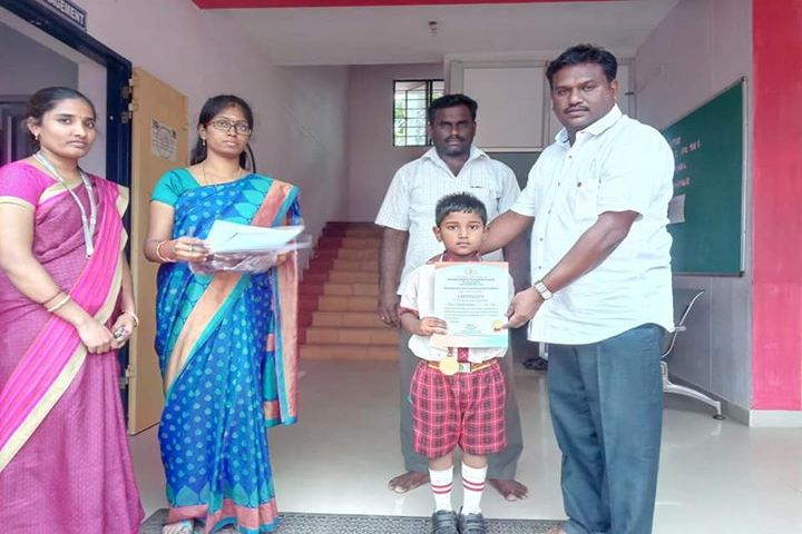 Kamarajar Public School - Winner All India Hand Writing