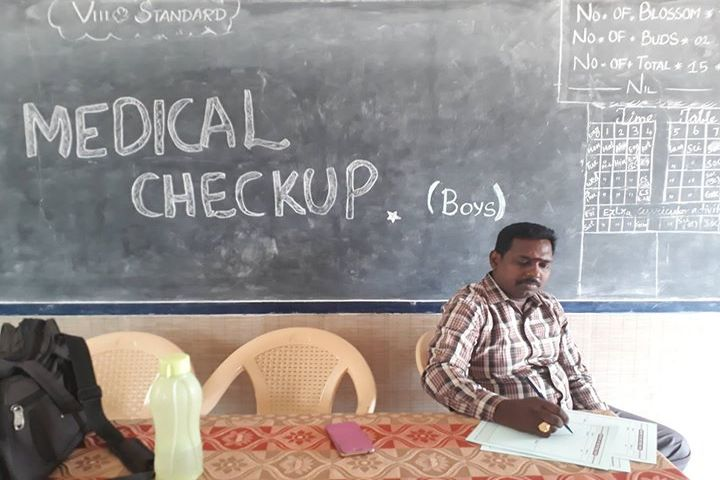 Kamarajar Public School -Medical Checkup