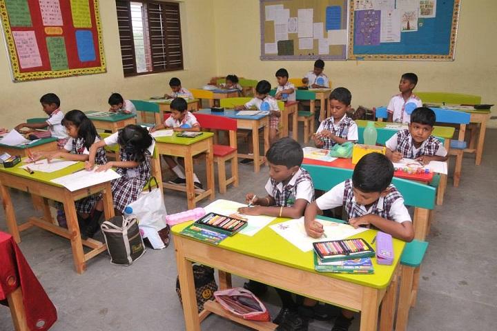 Kannadivappa International School-Classroom