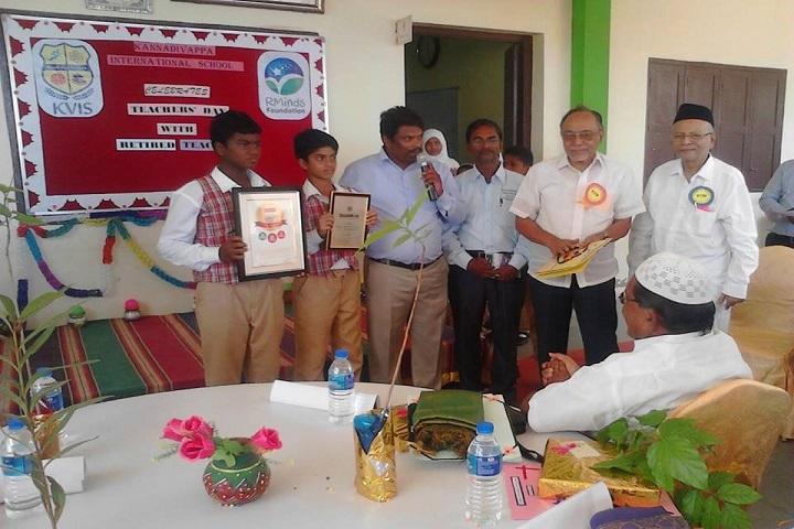 Kannadivappa International School-School Event