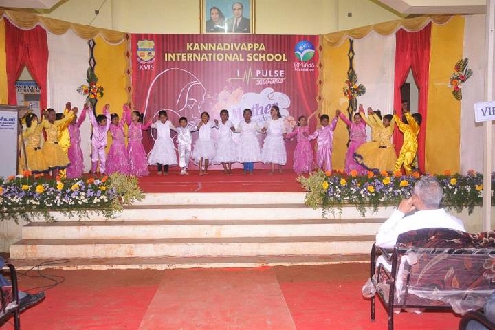 Kannadivappa International School-Fest
