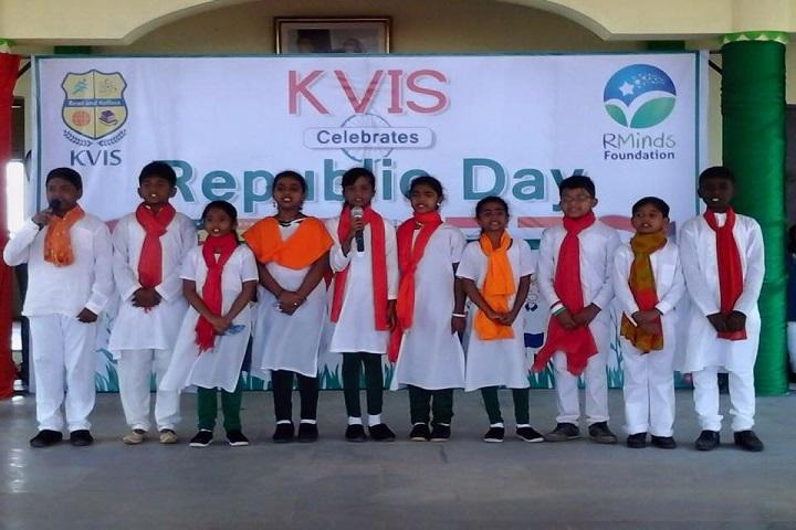 Kannadivappa International School-Republic Day