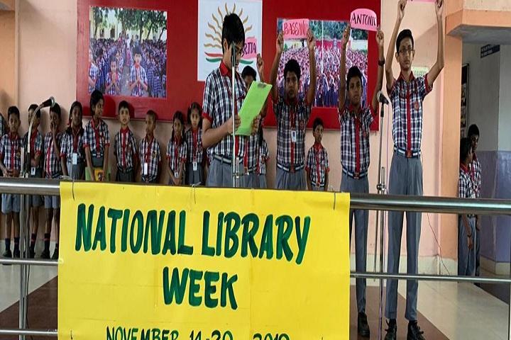 Kendriya Vidyalaya-National Library Week