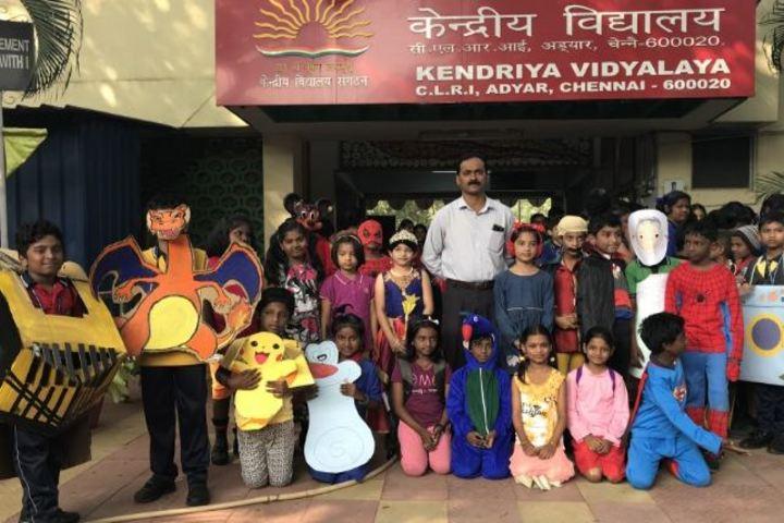 Kendriya Vidyalaya-Mask Making Competition