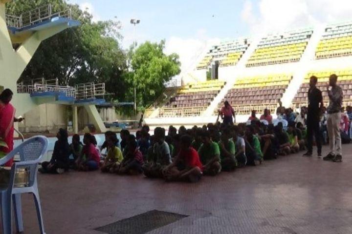 Kendriya Vidyalaya-Swimming Meet