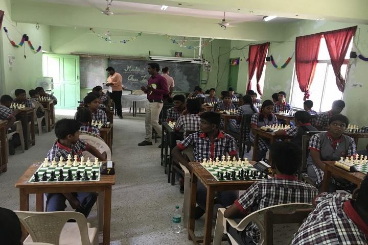 KENDRIYA VIDYALAYA MANDAPAM-chess