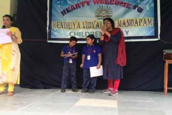 KENDRIYA VIDYALAYA MANDAPAM-children