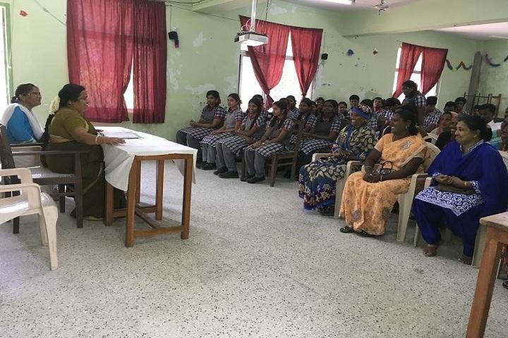 KENDRIYA VIDYALAYA MANDAPAM-parent teacher meeting