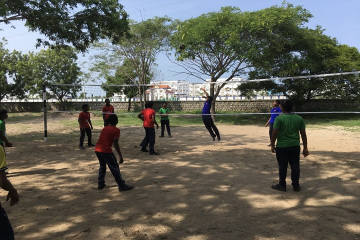 KENDRIYA VIDYALAYA MANDAPAM-volley bal