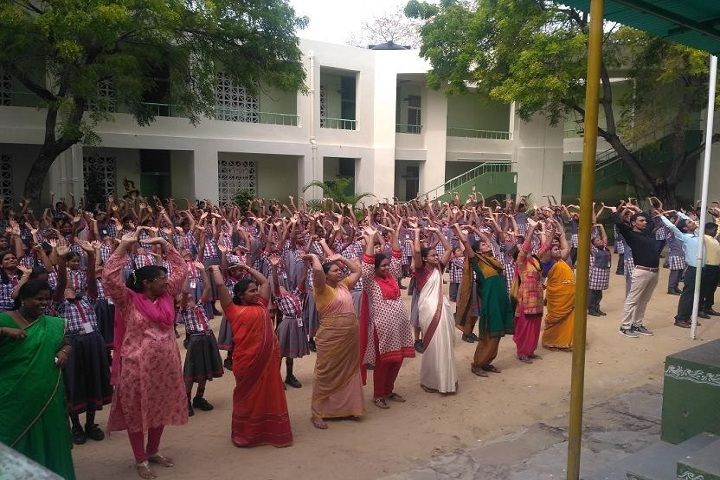 KENDRIYA VIDYALAYA MANDAPAM-yoga