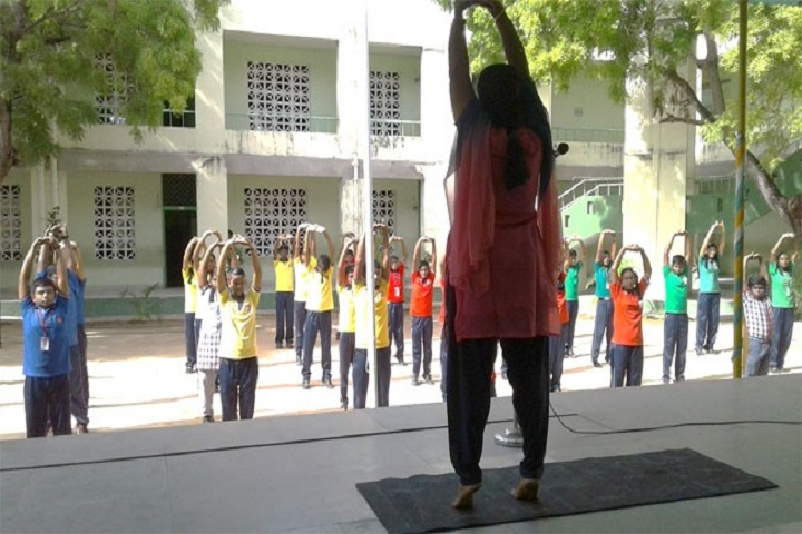 KENDRIYA VIDYALAYA MANDAPAM-yogaday