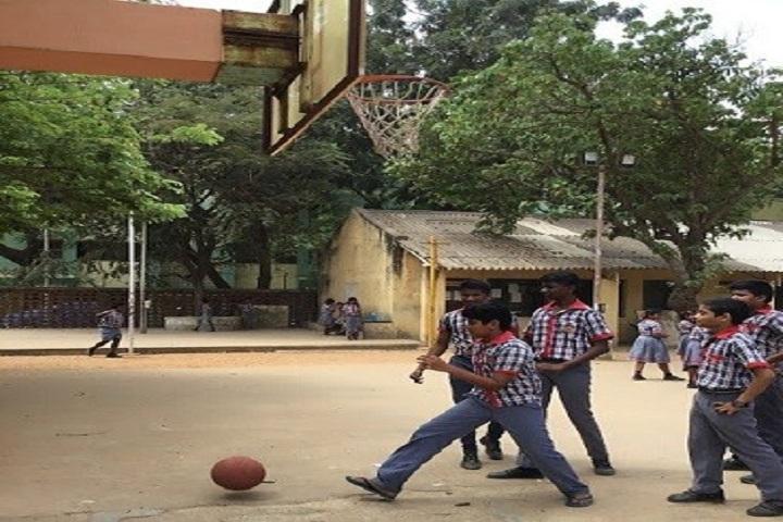 Kendriya Vidyalaya -Basket Ball Court