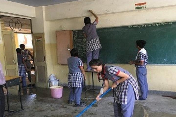 Kendriya Vidyalaya-Class Room Cleaning