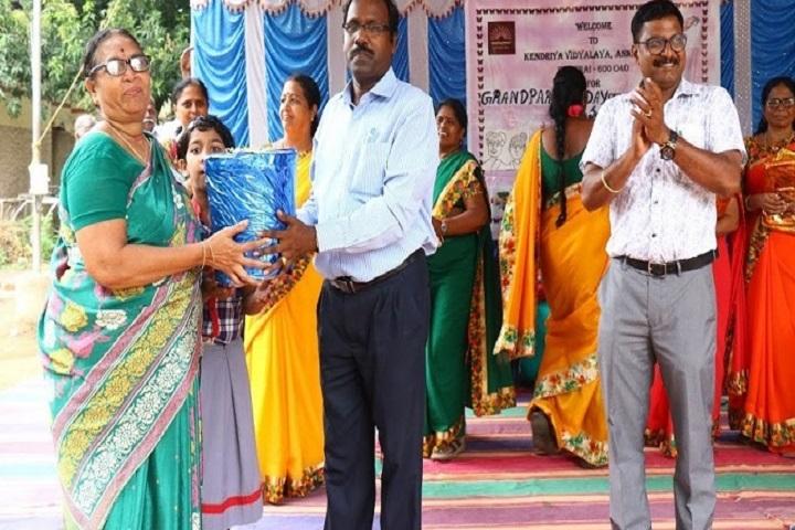 Kendriya Vidyalaya-Grand Parents Day Celebration