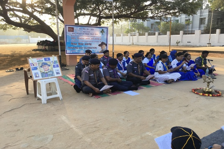 Kendriya Vidyalaya-World Thinking Day