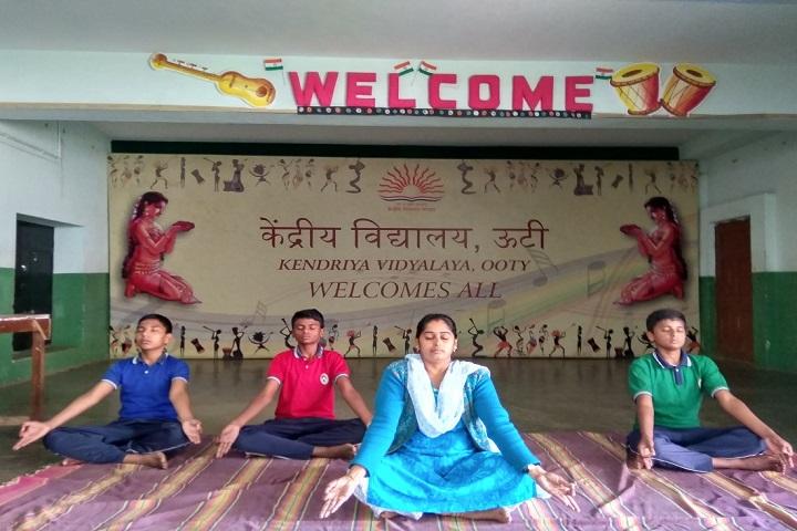Kendriya Vidyalaya-Yoga Day Celebration