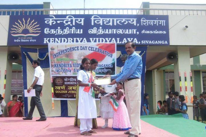 Kendriya Vidyalaya School-Independance Day
