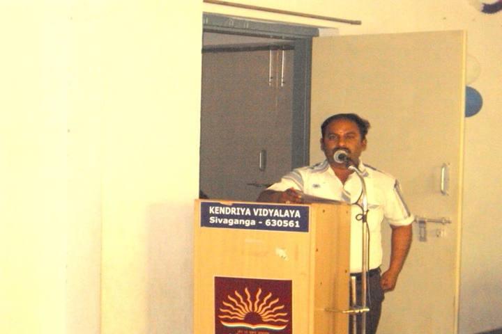 Kendriya Vidyalaya School-Speech