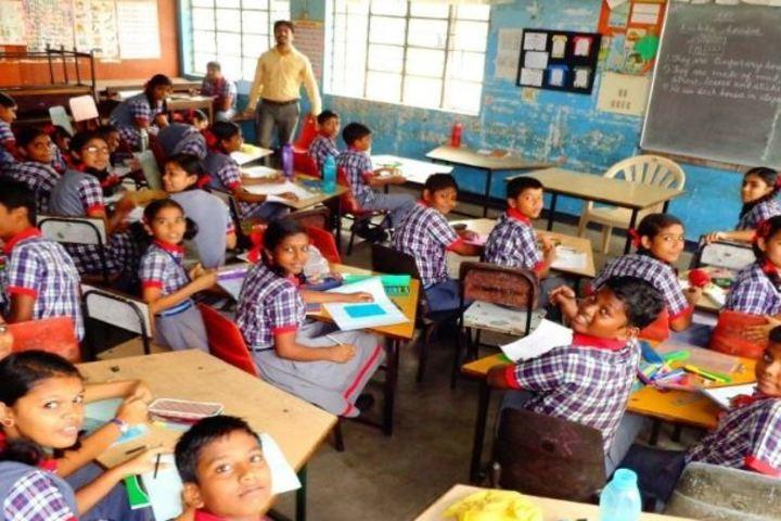 Kendriya Vidyalaya-Class Students