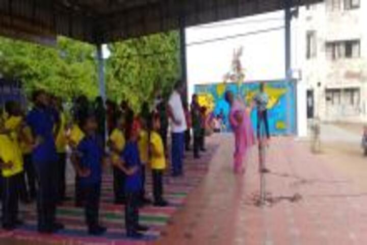Kendriya Vidyalaya No 2-Yoga Day Celebrations