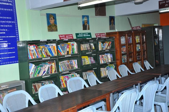 Kendriya Vidyalaya No-2-Library