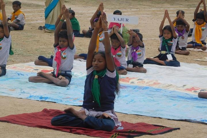 Kg VidhyaShram-Yoga Day