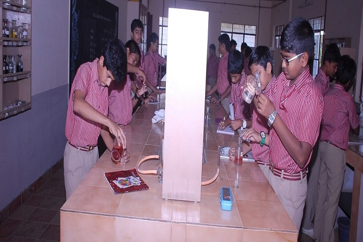 Kikani Vidya Mandir-Chemistry Lab