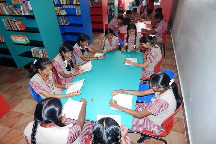 Kikani Vidya Mandir-Library