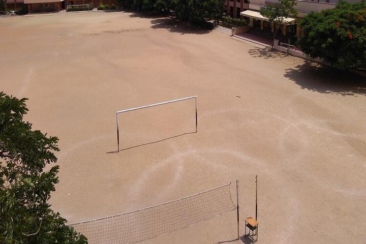 Kikani Vidya Mandir-School Ground