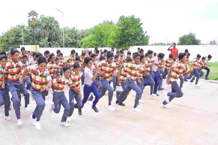 Kingstone International School-National Sports day