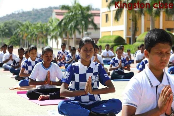 Kingstone International School-Yoga Day