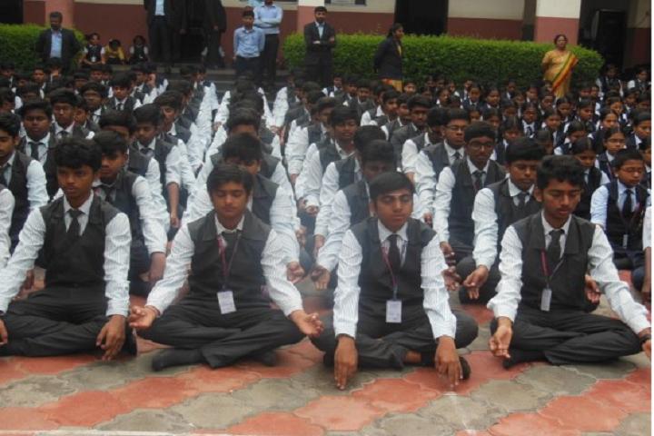 KMC Public School-Yoga Day