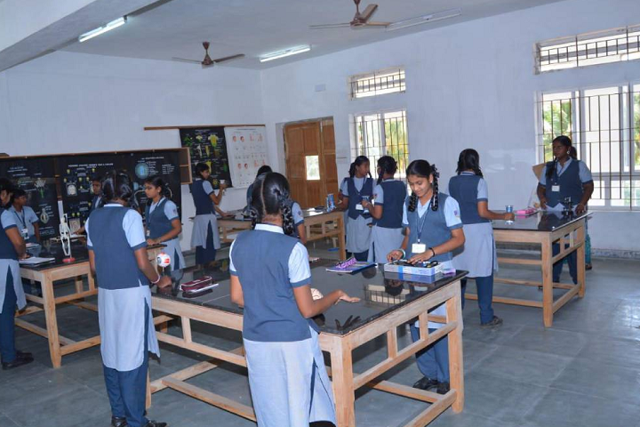 KMR International School-Biology Laboratory