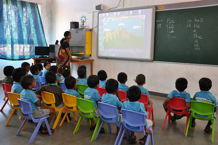 KMR International School-Smart Classroom
