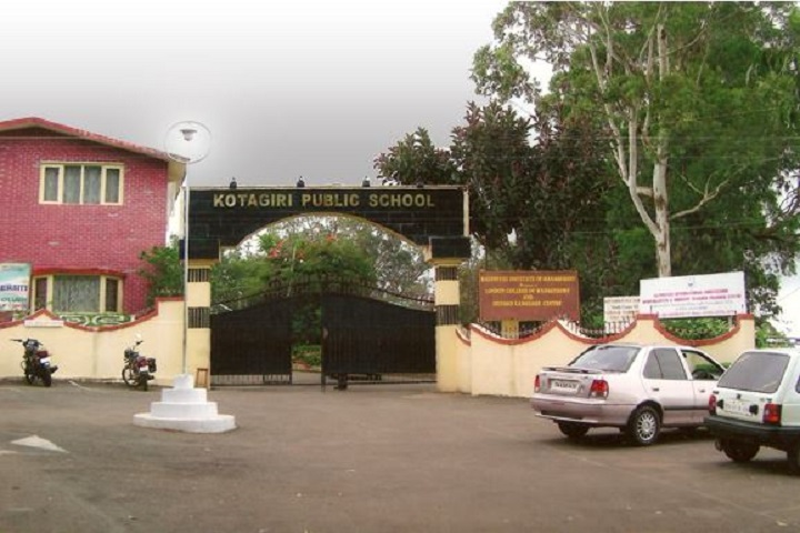 Kotagiri Public School-Entrance