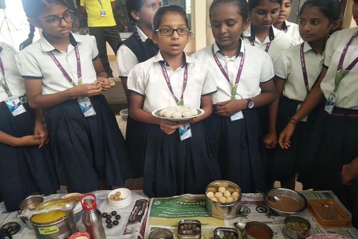 Kovai Public School-Food Day