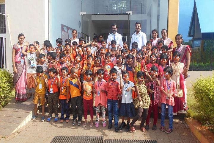Kovai Public School-International Tiger Day Celebration