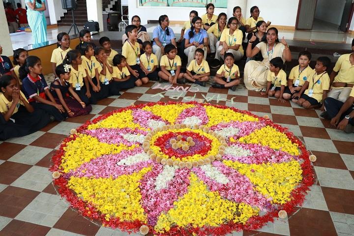Kovai Public School-Onam Celebration