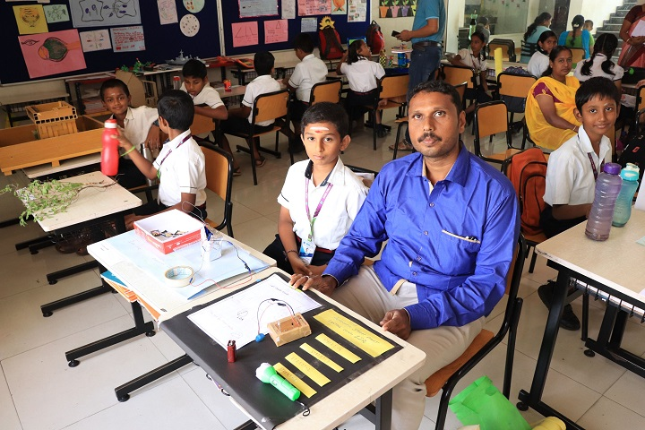 Kovai Public School-Project Day