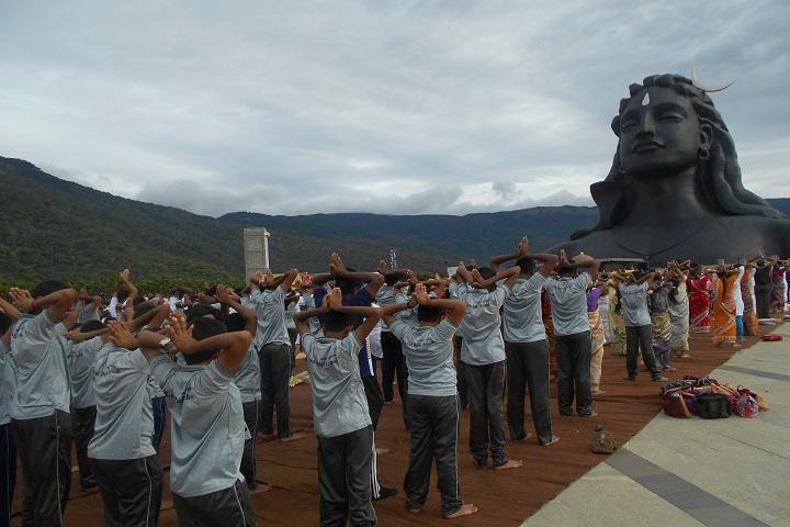 Kovai Public School-Yoga