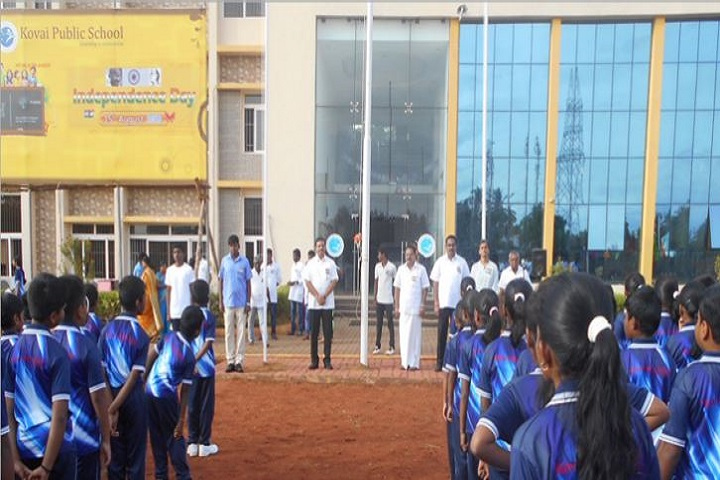 Kovai Public School-Independence DAY