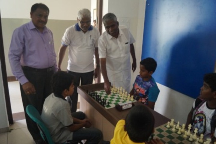 Kovai Vidyashram school-Chess Compitition