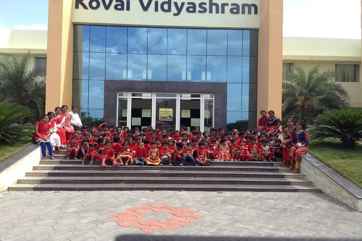 Kovai Vidyashram school-KG Colours Day